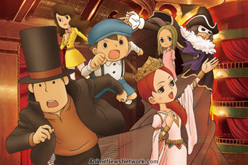 New Professor Layton Anime And Game Expected To Launch In 2018