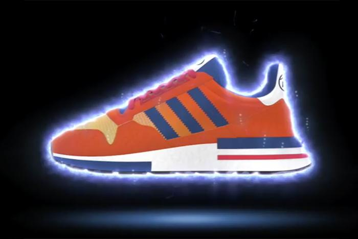 ad4d9b64659 Behold the Adidas X Dragon Ball Z Sneaker collection