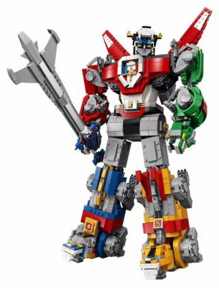 Lego Voltron Full built
