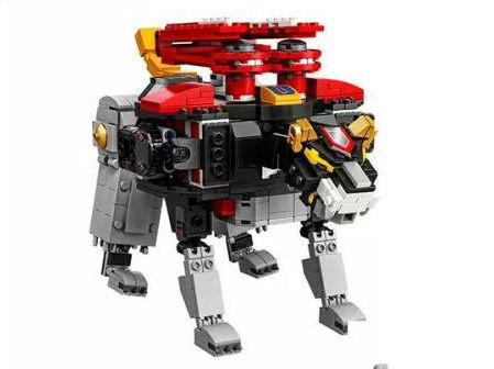 Lego Voltron black lion