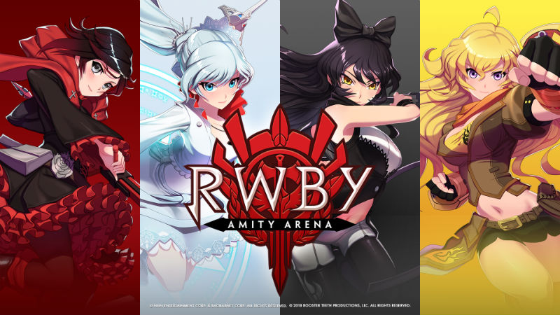 rwby s mobile game amity arena pre registration has started
