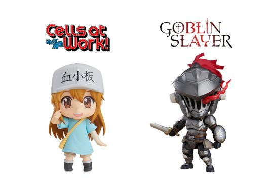 Cells at work and Goblin slayer Nendoroid