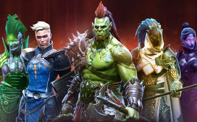 Raid: Shadow Legends main